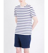 Polo Ralph Lauren Striped Cotton Jersey T Shirt Classic Oxford