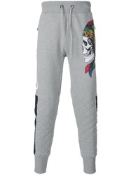 Philipp Plein New Version Track Pants Grey