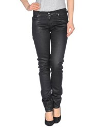 Baci And Abbracci Denim Denim Trousers Women