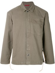 Homecore Classic Fitted Jacket Green