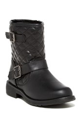 Refresh Jab Quilted Boot Black