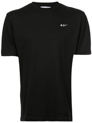 Alyx Back Print T Shirt Black
