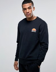 Ellesse Sweatshirt With Small Logo Black