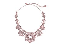 Kate Spade Crystal Lace Necklace Rose Gold