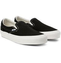 Vans Og Classic Lx Canvas Slip On Sneakers Black