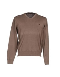 Harmontandblaine Knitwear Jumpers Men Khaki