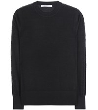 Jason Wu Wool And Silk Sweater Black