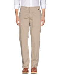 Liu Jo Man Casual Pants Beige