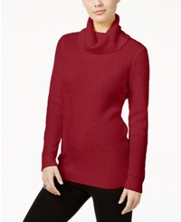 G.H. Bass And Co. Turtleneck Sweater Classic Red