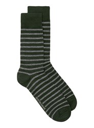 Selected Homme Grey Textured Socks