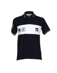 The Royal Pine Club Polo Shirts Dark Blue