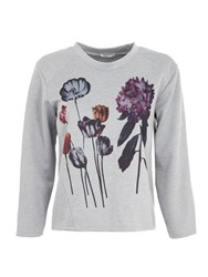 Lavand Embroidered Flowery Jumper Multi Coloured