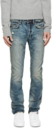 Marc By Marc Jacobs Indigo Distressed Jimmy Jeans