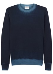Cotton Citizen Cobain Dark Blue Terry Sweatshirt Navy