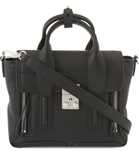 3.1 Phillip Lim Pashli Leather Mini Satchel Blk Nickel