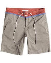 Quiksilver Street Trunk Contrast Yoke Shorts Dusty Olive