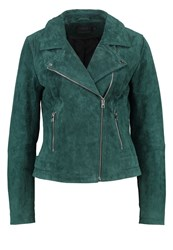 Only Petite Onlvega Leather Jacket Scarab Dark Green