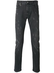 Marc Jacobs Distressed Jeans Black