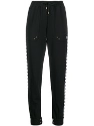 Fred Perry Embroidered Logo Trousers Black