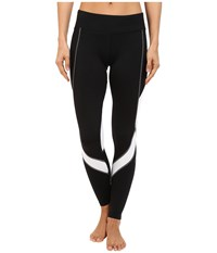 Hot Chillys F8 Performance 8K Tights Black White Women's Casual Pants
