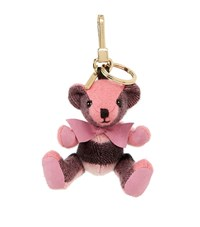 Burberry Shoes And Accessories Thomas Check Bear Charm Female Pink