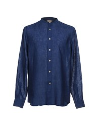 Gherardini Shirts Dark Blue