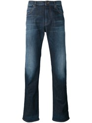 Armani Jeans Washed Skinny Blue