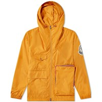 Moncler Genius 2 1952 Flanquart Packable Zip Hooded Jacket Orange