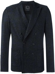 Tonello Double Breasted Blazer Grey