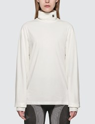 Misbhv The Monogram Turtleneck White