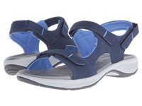 Easy Spirit Egnita 3 Navy Navy Synthetic Women's Sandals
