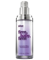 Bliss Firm Baby Firm Dual Action Lifting Volumizing Serum 1 Oz