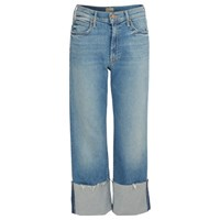 Mother The Dusty Cuff Fray Jeans Shoot To Thrill