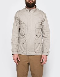 Shades Of Grey Four Pocket Parka Stone