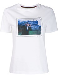 Paul Smith Ps Photographic Print T Shirt White
