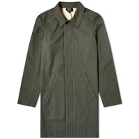 A.P.C. Phil Checked Mac Green