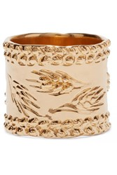 Aurelie Bidermann Gold Plated Ring 54