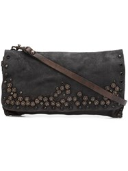 Campomaggi Embellished Shoulder Bag Brown