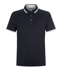 Michael Kors Manhattan Polo Shirt Male Navy