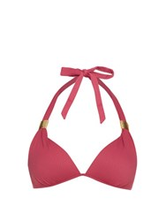 Heidi Klein Casablanca Push Up Bikini Top Pink