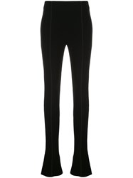 Thierry Mugler Extra Long Flared Trousers 60