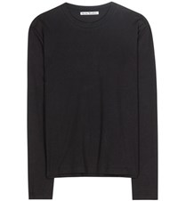 Acne Studios Dayna Cotton Top Black