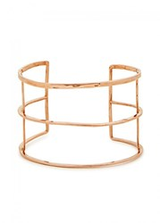 Maya Magal 18Kt Rose Gold Plated Cuff