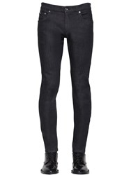 Dolce And Gabbana Skinny Fit Stretch Cotton Blend Jeans Dark Blue