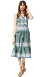 Sea Sleeveless Sabine Dress Green