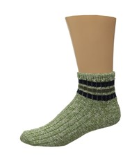 Wigwam Mar Lee Quarter 1 Pair Pack Avocado Quarter Length Socks Shoes Green