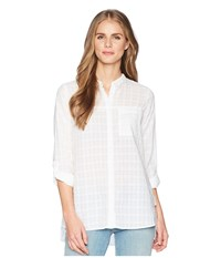 Exofficio Bugsaway R Collette Long Sleeve Shirt White Long Sleeve Button Up