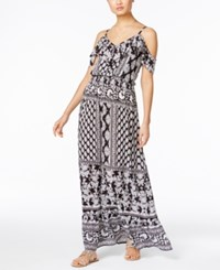 Inc International Concepts Printed Off The Shoulder Maxi Dress Only At Macy's Dandy Floral