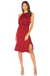 Ella Moss Halter Dress Red