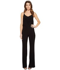 Laundry By Shelli Segal Cross Back Jumpsuit Black Women's Jumpsuit And Rompers One Piece